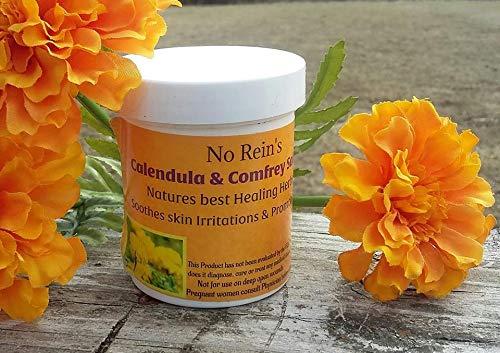 (No Rein's Calendula & Comfrey Salve 4 oz jar)