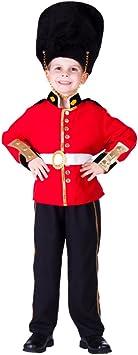 Dress Up America De Royal Guard Disfraz Set para niños: Amazon ...