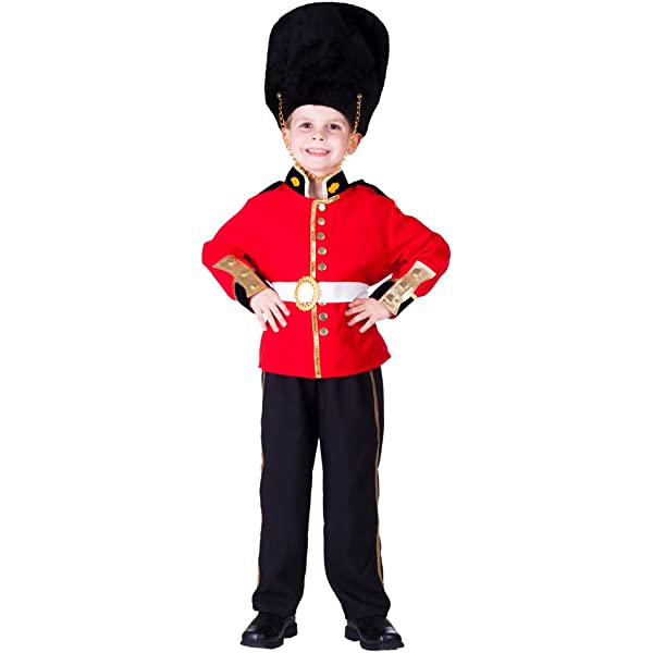 Adults Royal Guard Soldier Costume Mens Ladies Nutcracker Fancy Dress Outfit
