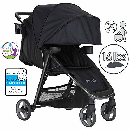 All Black Stroller Travel System - 9