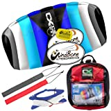 HQ4 HQ Rush V Pro 350 Trainer Power Kite CXS Bundle