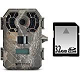 Stealth Cam GSM G42NG No-Glo Trail Game Camera Bundle with 32GB SD Card
