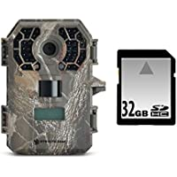 GSM Stealth Cam G42NG No-Glo Trail Game Camera Bundle with 32GB SD Card