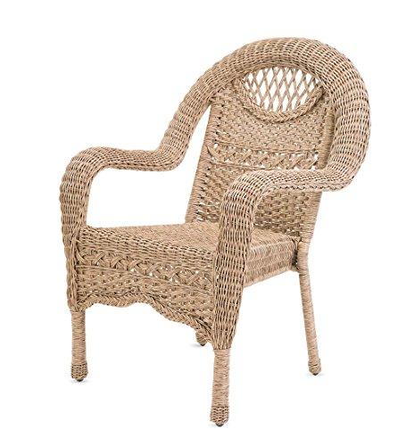 Prospect Hill Wicker Chair, Driftwood