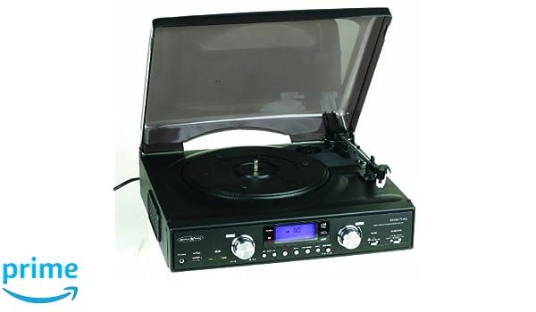 Reflexion TTR 8642 UCE Tocadiscos (FM/MW-sintonizador, Tocadiscos ...
