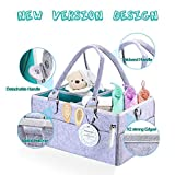 Baby Diaper Caddy Organizer Nursery Changing