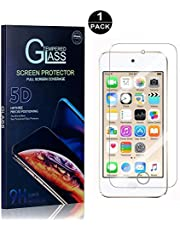 SONWO Protector Pantalla iPod Touch 5th / 6th Generation, Anti-Burbujas, Cristal Templado para Apple iPod Touch 5th / 6th Generation Anti-despegamientos, Anti-arañazos, Cobertura Completa, 1 Piezas