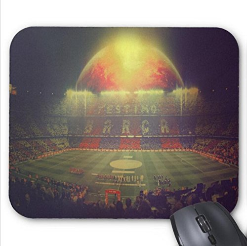 Mousepad Star and Rainbow Print Non-Slip Mouse Mat
