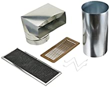 Broan 356NDK Non-Duct Recirculation Kit for PM250 Power Pack Range Hood Insert, Ductless Filtration Kit