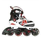 Landway Stuf Size Adjustable Inline Skates Rollerblade for Kis,children(m Size)