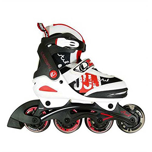 Landway Stuf Size Adjustable Inline Skates Rollerblade for Kis,children(small Size) by Landway