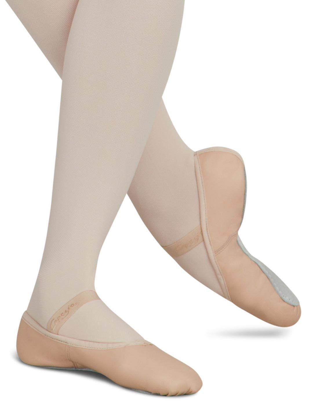Capezio Daisy 205 Ballet Shoe (Toddler/Little Kid),White,2.5 W US Little Kid