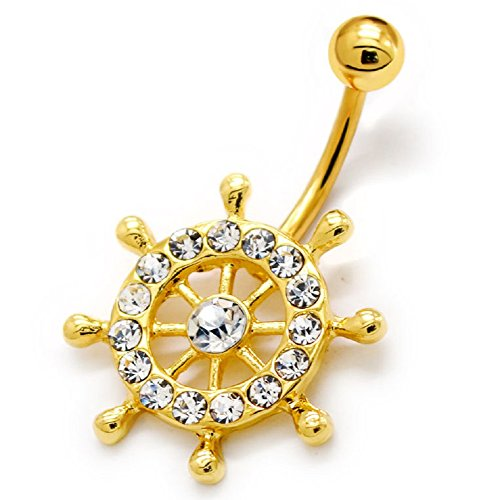 316l-surgical-grade-stainless-steel-gold-tone-crystal-ships-wheel-16g-body-barbell-29673