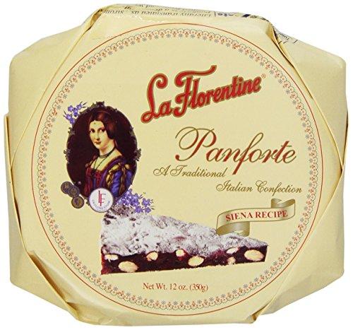 Florentine Bread - La Florentine Panforte, 12-Ounce Box