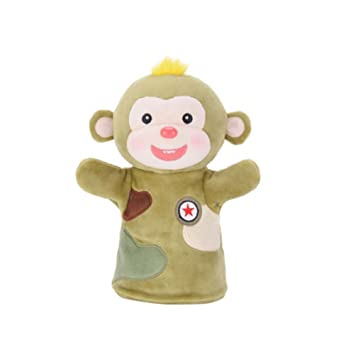 blancho fancy toy cute hand puppets monkey puppet for kids amazon