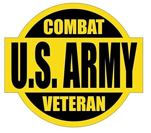 - 1 PC Supreme Popular US Army Combat Veteran Car Sticker Sign Marines Corps Weatherproof Stick Kit On Board Size 2