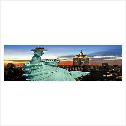 Amazoncom Dragon Aquarium Collage The Statue Of Liberty