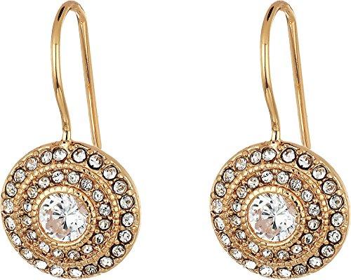 LAUREN Ralph Lauren Women's Vintage Crystal Drop Earrings Crystal/Rose Gold One ()