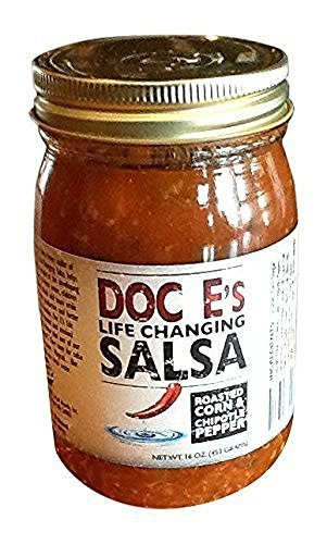 Doc Es Life Changing Salsa Roasted Corn & Chipotle Pepper