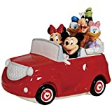 Westland Giftware Ceramic Cookie Jar, 8.5-Inch, Disney Mickey and Friends Road Trip by Westland Giftware