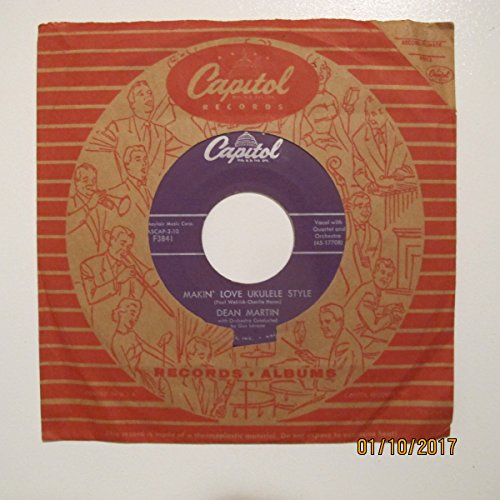 Mayfair Skirt - Dean Martin - Vocal with Quartet and Orchestra; Makin' Love Ukulele Style / Good Mornin' Life; w/ original Capitol Sleeve