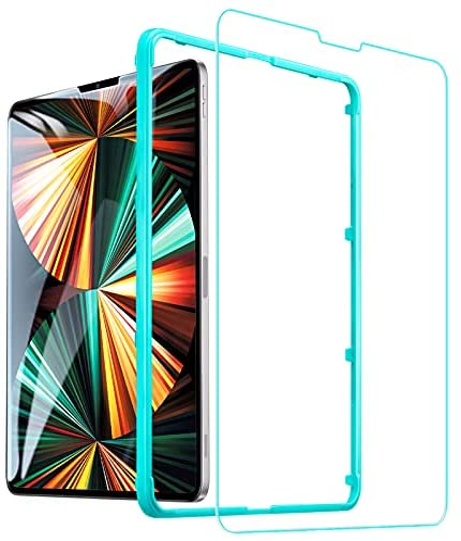 ESR Screen Protector voor iPad Pro 129 20202018 Gratis installatieframe Krasbestendig 9H hardheid HD Clear Premium gehard glas Screen Protector 1 Pack