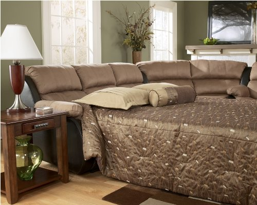 Presley Cocoa - Signature Design by Ashley Presley Cocoa Full Sleeper Sofa