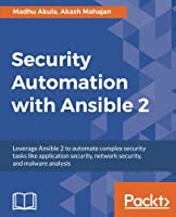 Security Automation with Ansible 2 Front Cover