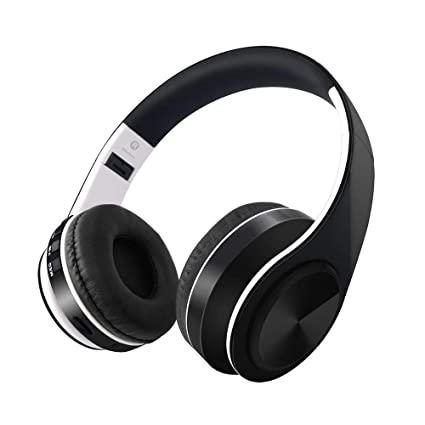 Amazon.com: SKY SINCERITY Auriculares Bluetooth V4.2 sobre ...