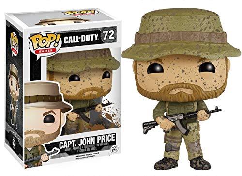 POP! Vinilo - Games Call of Duty Capt John Price
