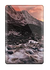 New SVNRXPN415uaLMc River Flowing From The Mountain Tpu Cover Case For Ipad Mini/mini 2