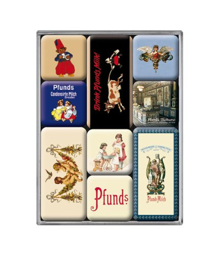 Libra Dresden leche condensada - 9 teiliges imán-Set embalaje original: Amazon.es: Hogar