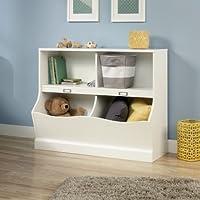 Sauder Storybook Bookcase, Soft White finish