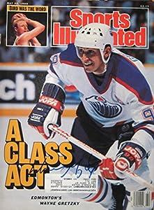 Gretzky, Wayne 5/30/88 autographed magazine