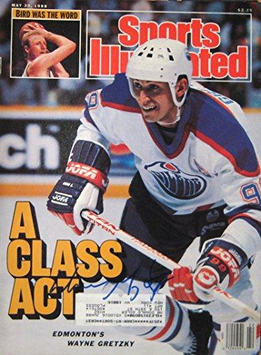 Gretzky, Wayne 5/30/88 autographed magazine Signed Autographed Oilers