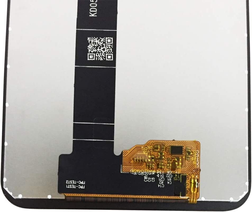 Black LCD Screen Mobile Phone and Digitizer Full Assembly for BQ Aquaris C Color : Black