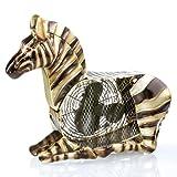 Deco Breeze Zebra Figurine Fan