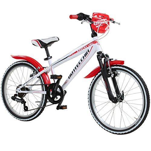 MTB Kinder BOTTECCHIA 470 6 Gang Modell 2014, Farbe:weiss/rot