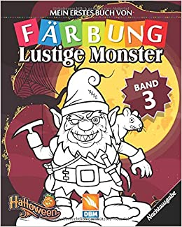 Lustige Monster Band 3 Nachtausgabe Malbuch Fur Kinder 25