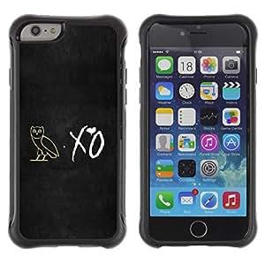 "Hypernova Defender Series TPU protection Cas Case Coque pour Apple (4.7 inches!!!) iPhone 6 [XO noctámbulo""]"