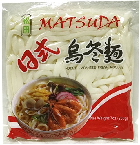 日式屋冬麵 Matsuda Japanese Style instant Udon fresh noodle 7oz (30 bags) (Best Japanese Instant Noodles)