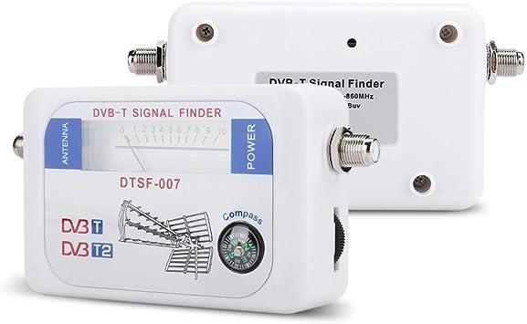 Tosuny Medidor de señal de satélite Digital Medidor de ...