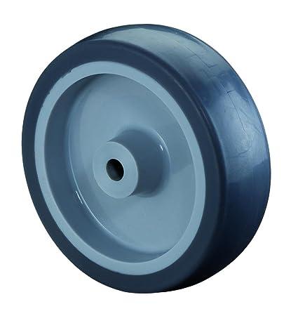 Rueda de goma, 50 mm de diámetro, ancho: 18 mm, ...