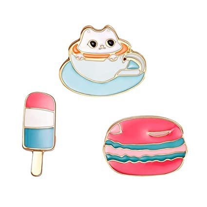 19622fabb6bc Amazon.com: Enamel Pin Cute Funny Lapel Pins for Backpacks Clothes ...