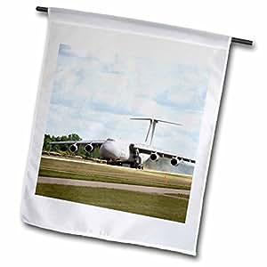 Danita Delimont - Aviation - Air Force, C-5A Galaxy, cargo aircraft, aviation - US50 BFR0069 - Bernard Friel - 12 x 18 inch Garden Flag (fl_97139_1)