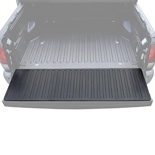 - BDK Heavy-Duty Utility Truck Bed Tailgate Mat - Thick Rubber Cargo Liner for Pickups