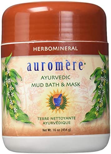 Ayurvedic Herb and mineral Mud Bath by Auromere – All Natural Mud Bath that Purifies and Rejuvenate Skin Effects – Eliminates Toxins and Impurities While Nourishes Skin – 16 oz
