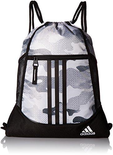 adidas Alliance II Sack Pack, One Size, Data Camo White/Black/White (Shoes Adidas Workout)