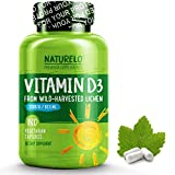 NATURELO Vitamin D – 2500 IU – From Organic Lichen – Best Natural D3 Supplement for Immune System, Bone Support, Joint Health – Whole Food – Vegan – Non-GMO – Gluten Free – High Potency – 180 Capsules Review