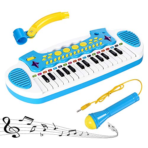 Love&Mini Piano Toy Keyboard for Kids Multifunctional